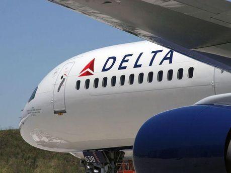Літак авіакомпанії Delta Airlines
