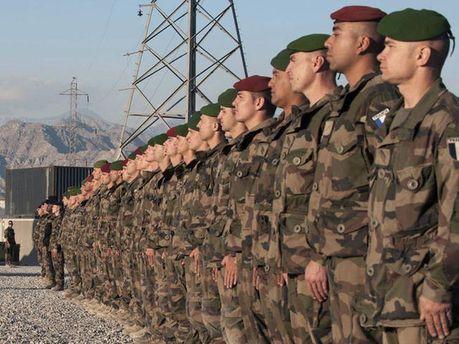 Французские военные в Афганистане