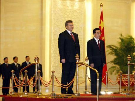 Віктор Янукович у Китаї