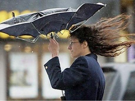У Київській області штормове попередження