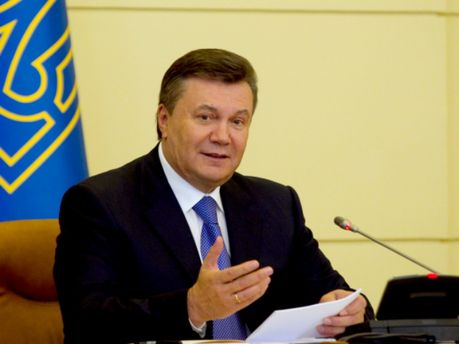 Президент Віктор Янукович