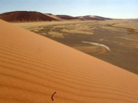 Пустыня в Намибии