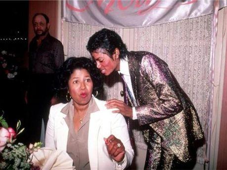 Кэтрин Джексон с сыном