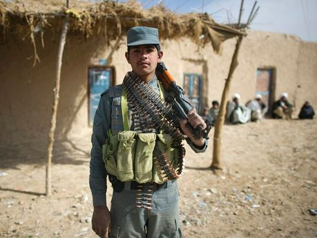Афганський поліцейський