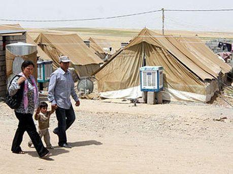 Сирийские беженцы на территории Ирака