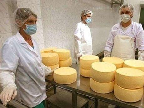 На производстве сыров