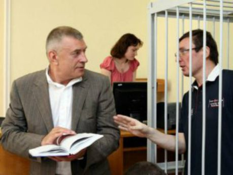 Юрій Луценко та Олексій Баганець
