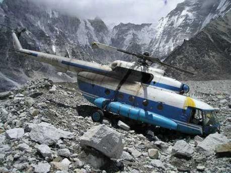 Вертоліт впав поблизу села Палю-сюр-Вердон
