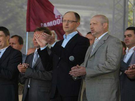 Представители Объедененной оппозиции