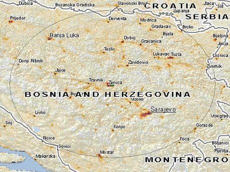 Землетрясение в Боснии и Герцеговине
