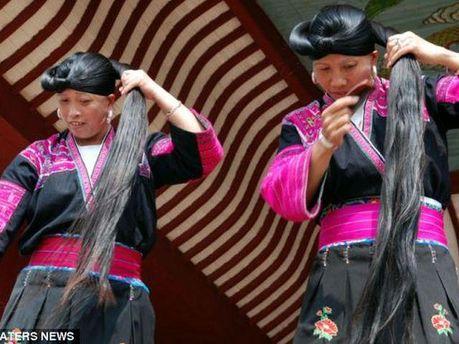 Женщины села Хуанглуо