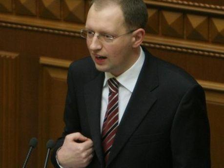 Арсеній Яценюк у Верховній Раді