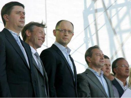 Представники Об'єднананої опозиції