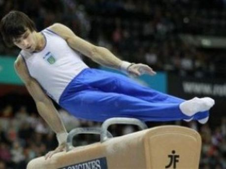 Украинский гимнаст