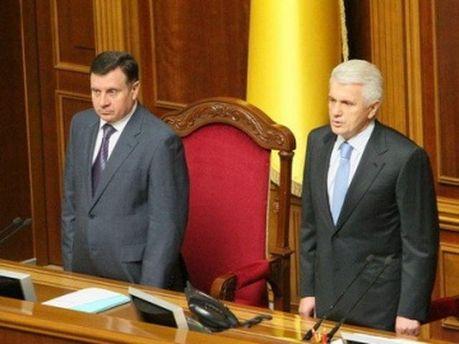 Володимир Литвин і Адам Мартинюк
