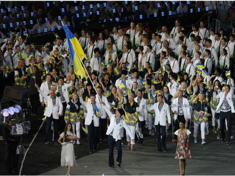 Українські спортсмени на Олімпіаді