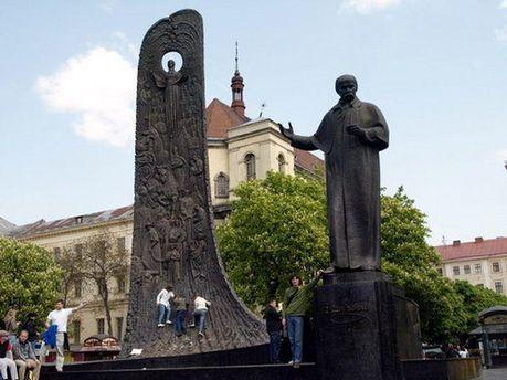 Пам'ятник Тарасу Шевченку у Львові