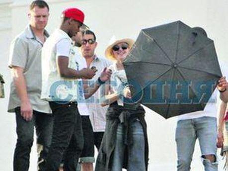Мадонна у Києві