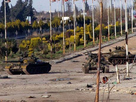 Сирийские правительственные войска
