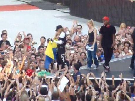 Мадонна в Києві