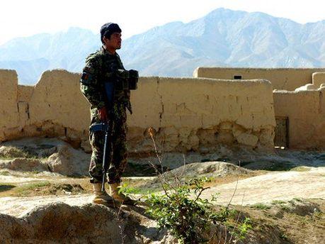 Афганский солдат