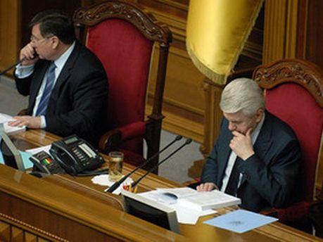 Володимир Литвин та Адам Мартинюк