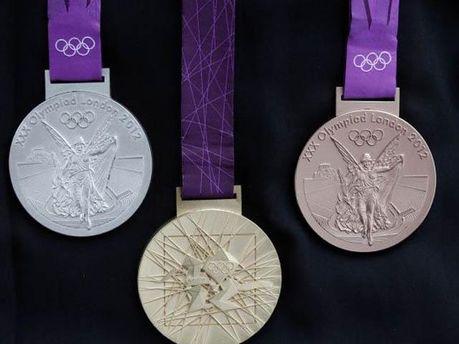 Медали Олимпиады-2012