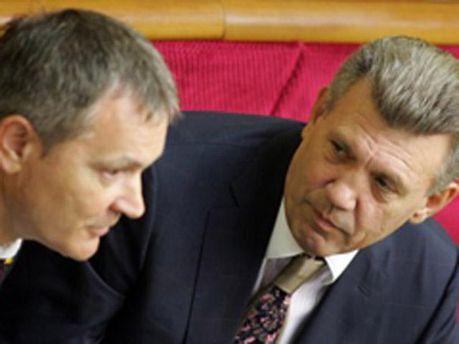 Вадим Колесніченко і Сергій Ківалов