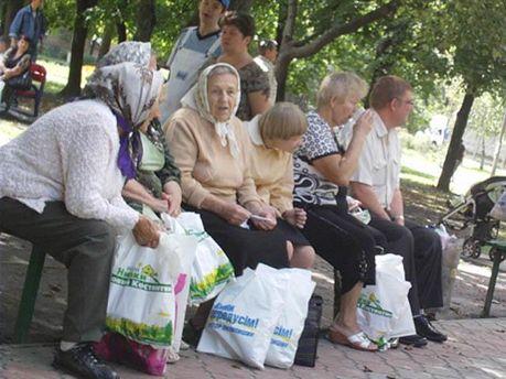 Бабушки в Киеве