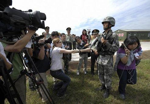 Журналисты в Китае