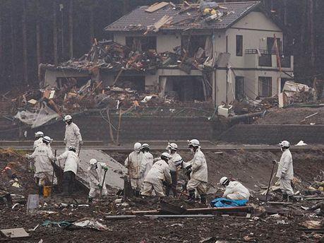 Японские спасатели