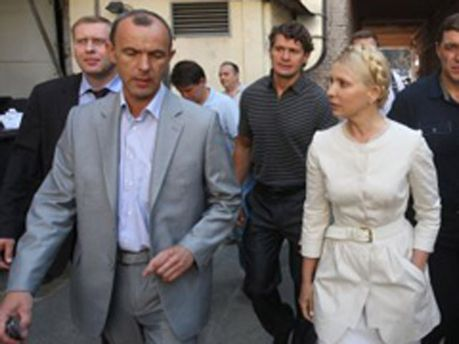 Андрей Кожемякин и Юлия Тимошенко