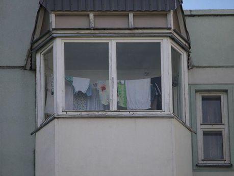 Балкон загиблої журналістки