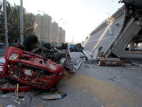 Последствия обрушения моста