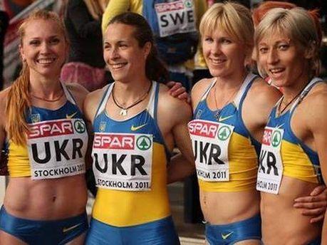 Українські легкоатлетки