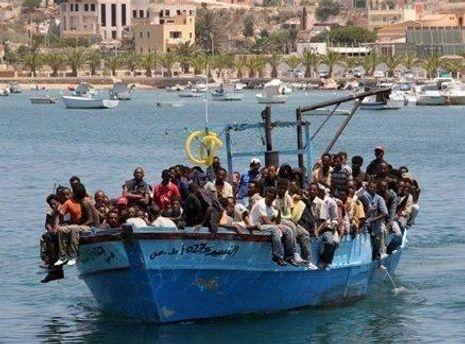 Нелегальные мигранты из Гаити
