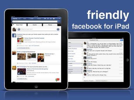 Facebook для iPad