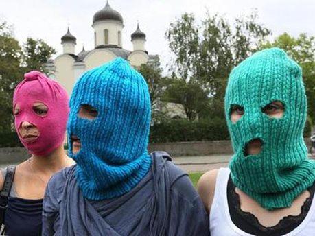 Акція на захист Pussy Riot