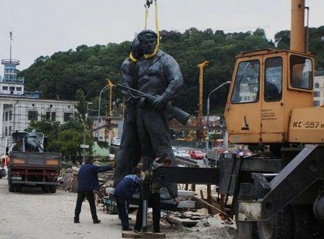Монумент радянським морякам