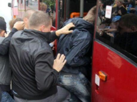 Задержали активистов