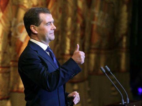 Прем'єр-міністр РФ Дмитро Медведєв