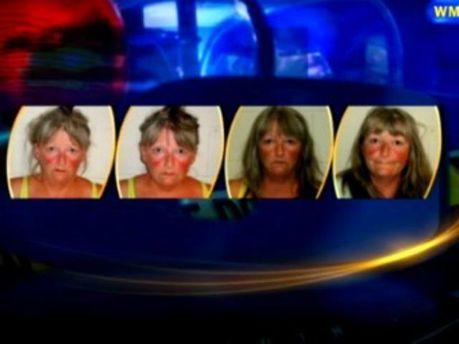 Фото жінки, зроблені в поліції