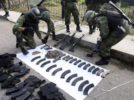 Зброя мексиканських наркоторговців