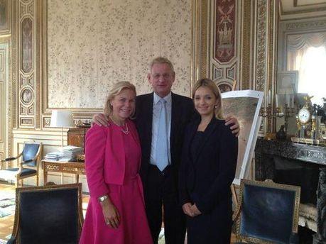 Карл Більдт зустрівся із донькою Тимошенко