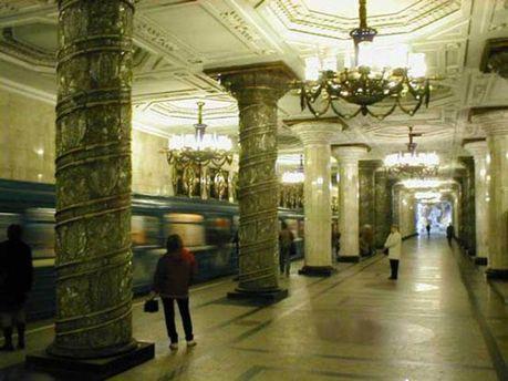 Санк-Петербург, метро