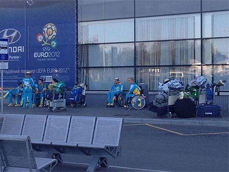 Паралимпийцы после встречи