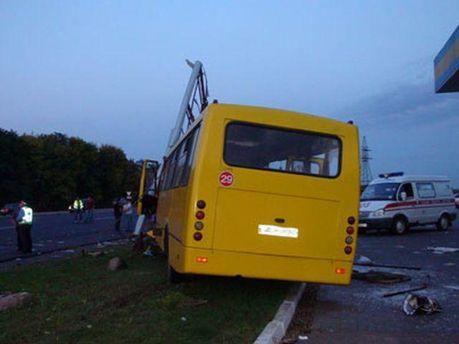ДТП на трасі Київ-Харків