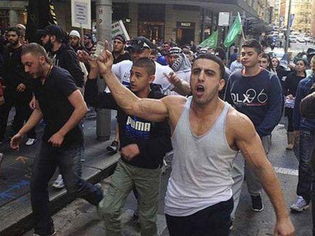 Столкновения в Сиднее
