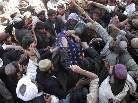 Демонстрации в Афганистане