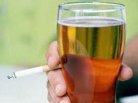 Пиво та цигарки